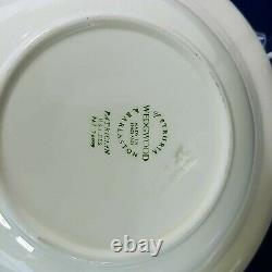 Wedgwood China Coupe Cereal Bowl Patrician Embossed Set of 7