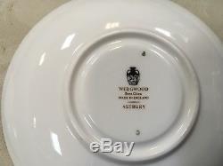 Wedgwood China Of England Astbury Black Tea Cup & Saucer Trio Set Excellent