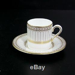 Wedgwood Colonnade W4339 Tea Set Of 12 Pieces Bone China Made In England