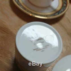 Wedgwood INDIA Cup & Saucer SET of 5 Pair Made in England Bone China Tableware
