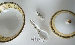 Wedgwood India 5 Piece Asian Set Bone China Made in England UK Very Nice