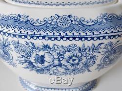 Wedgwood'yale' Tea Set Blue And White China Antique Wedgwood Etruria England